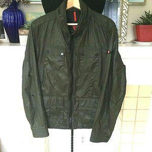 Strellson Rain Jacket Med High End Military Waxed